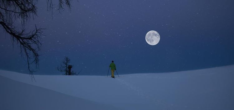 Cancelled: Full moon snowshoeing